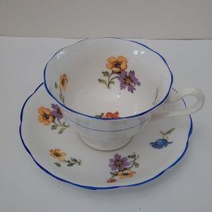 Royal Albert Crown China TeaCup&Saucer